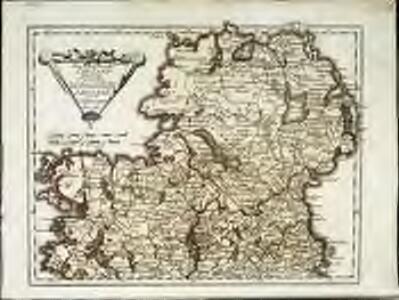 Des Königreichs Ireland Provinz Ulster mit dem nördlichen Theile der Provinzen Leinster und Con[n]aught
