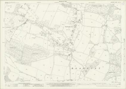 Hampshire and Isle of Wight LXVII.14 (includes: Boarhunt; Fareham; Wickham) - 25 Inch Map