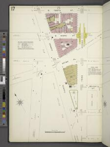 Manhattan, V. 2, Plate No. 17 [Map bounded by E. 10th St., 3rd Ave., 4th Ave.]