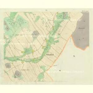 Oberdorf (Hornj Rokitnice) - c2136-1-006 - Kaiserpflichtexemplar der Landkarten des stabilen Katasters
