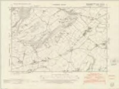 Montgomeryshire XXXI.NW - OS Six-Inch Map
