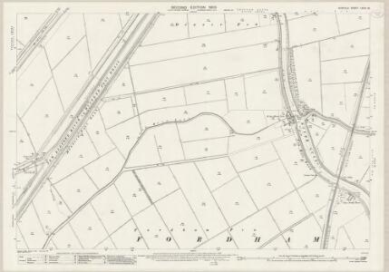 Norfolk LXVIII.16 (includes: Denver; Fordham; Hilgay; Nordelph; Welney) - 25 Inch Map