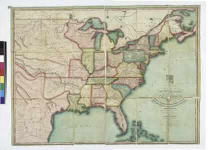 The traveller's guide : a new and correct map of the United States, including great portions of Missouri Territory, Upper & Lower Canada, Nova Scotia, New Brunswick, the Floridas, Spanish provinces &c. / collected and compiled from the most undoubted aut
