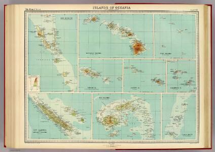 Islands of Oceania.