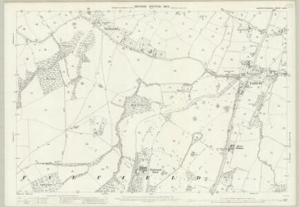 Gloucestershire LV.16 (includes: Cromhall; Falfield; Rockhampton; Thornbury; Tortworth) - 25 Inch Map