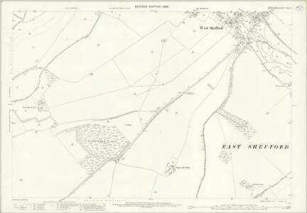 Berkshire XXVI.13 (includes: East Garston; East Shefford; Welford; West Shefford) - 25 Inch Map