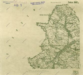 III. vojenské mapování 3552/4