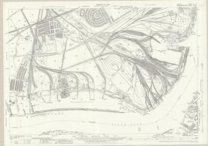 Durham III.8 (includes: Jarrow; South Shields; Tynemouth; Wallsend) - 25 Inch Map