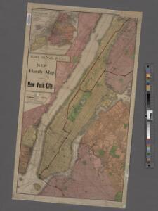 New handy map of New York City.