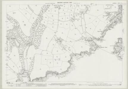 Cornwall LI.12 (includes: Fowey; Lanteglos) - 25 Inch Map