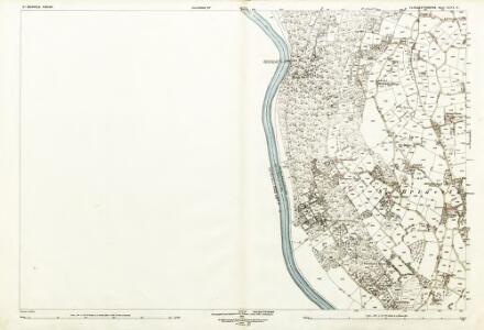 Gloucestershire XLVI.6 (includes: St Briavels; Tintern; Trelech United) - 25 Inch Map