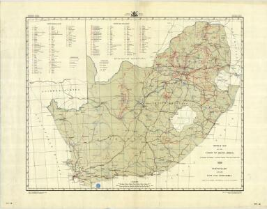 South Africa [Mineral map of the Union of ] (1959)