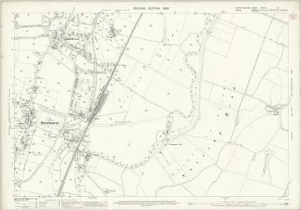 Hertfordshire XXXVII.9 (includes: Hoddesdon; Nazeing; Roydon) - 25 Inch Map