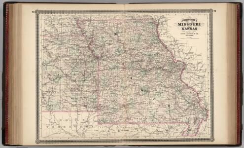 Missouri and Kansas.