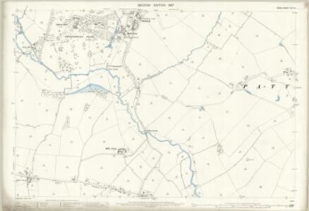 Essex (1st Ed/Rev 1862-96) XXV.12 (includes: Bradwell; Coggeshall; Stisted) - 25 Inch Map