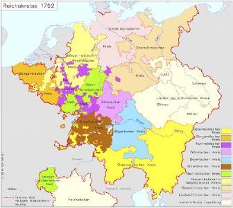 Reichskreise 1792