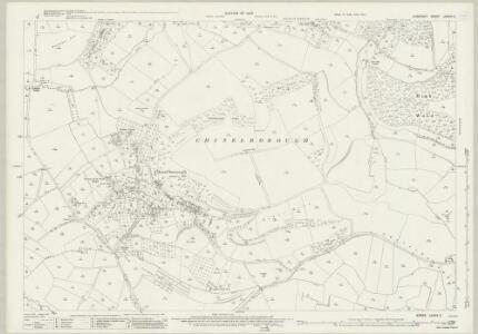 Somerset LXXXIX.2 (includes: Chiselborough; Montacute; Norton Sub Hamdon; West Chinnock) - 25 Inch Map