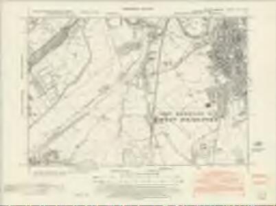 Nottinghamshire XLII.SW - OS Six-Inch Map