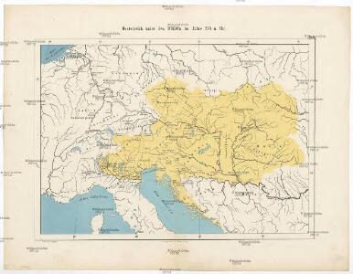 Oesterreich unter den Römern im Jahre 274 n. Chr