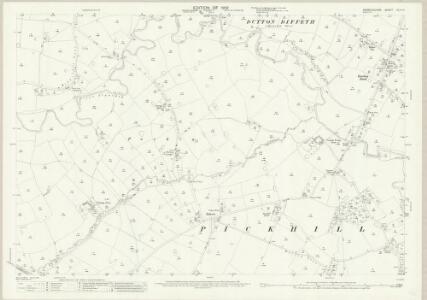 Denbighshire XXIX.14 (includes: Abenbury; Is Y Coed; Marchwiail; Seswick) - 25 Inch Map