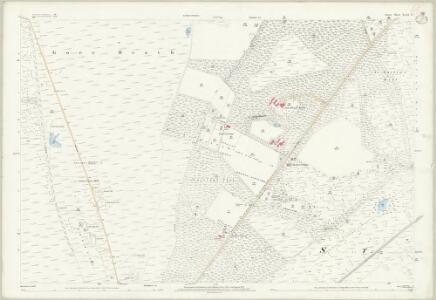Dorset XLIII.13 (includes: Wareham St Martin) - 25 Inch Map
