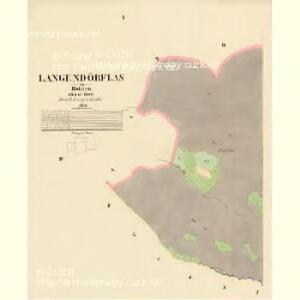 Langendörflas - c1151-1-001 - Kaiserpflichtexemplar der Landkarten des stabilen Katasters