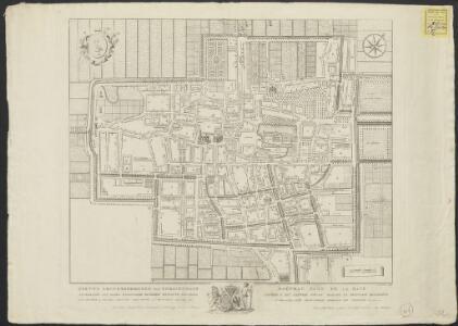 Nieuwe grondteekening van 's Gravenhage = Nouveau plan de la Haye