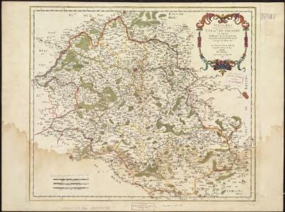 Suessones : Evesche de Soissons : où sont les Balliages et eslections de Soissons, Chasteau Thierry, et Crespy en Valois &c.