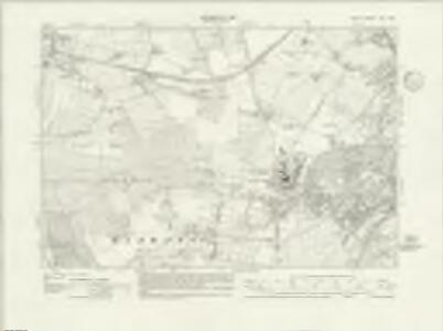 Kent XLII.NW - OS Six-Inch Map