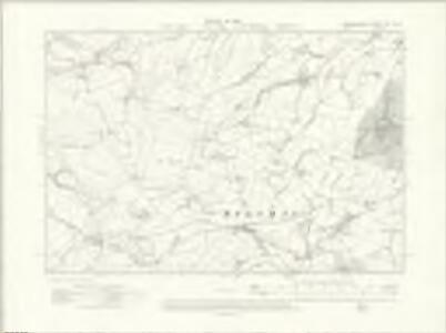 Denbighshire XIII.NW - OS Six-Inch Map
