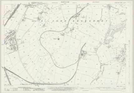 Cumberland LXXII.12 (includes: Beckermet St John) - 25 Inch Map