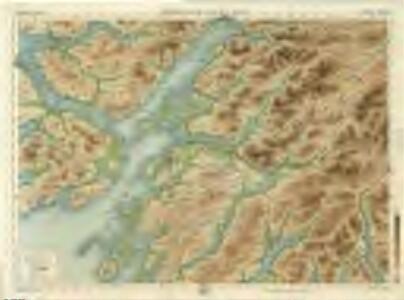 Oban & Loch Awe, Sheet 11  - Bartholomew's