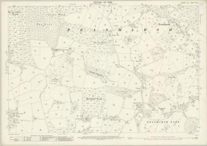 Sussex XLV.1 (includes: Peasmarsh) - 25 Inch Map