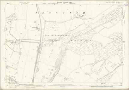 Hampshire and Isle of Wight LXVIII.8 (includes: Compton; Rowlands Castle) - 25 Inch Map