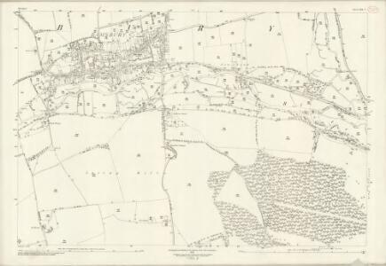 Wiltshire XXX.5 (includes: Ramsbury) - 25 Inch Map