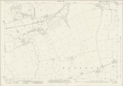 Essex (New Series 1913-) n IV.15 (includes: Cavendish; Pentlow) - 25 Inch Map