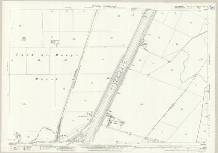 Lincolnshire CXLIV.11 (includes: Central Wingland; Tydd St Giles; Tydd St Mary; Walpole St Peter) - 25 Inch Map