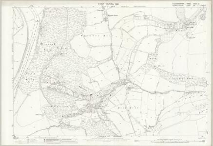 Gloucestershire XXXVIII.15 (includes: Newland; St Briavels; Trelech United) - 25 Inch Map