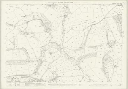 Somerset LXVII.6 (includes: Brushford; Dulverton) - 25 Inch Map