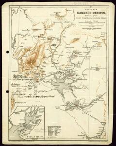 Karte des Kamerun-Gebiets