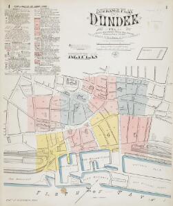 Insurance Plan of Dundee Vol. I: Key Plan