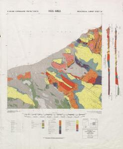 1 : 125,000 Somaliland Protectorate. Geological Survey. D.C.S. 1076, Heis Area