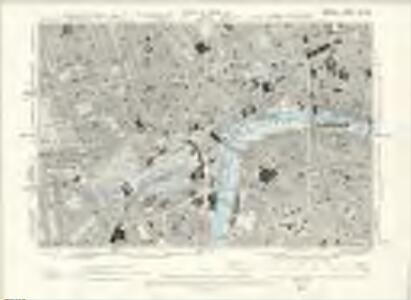 London VII.SW - OS Six-Inch Map