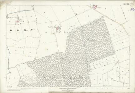 Lincolnshire LXIX.4 (includes: Broadholme; Doddington and Whisby; Skellingthorpe) - 25 Inch Map