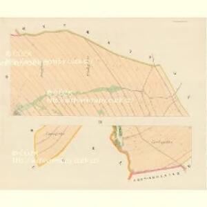Klein Olbersdorf (Mala Olbrechčice) - m0007-1-003 - Kaiserpflichtexemplar der Landkarten des stabilen Katasters