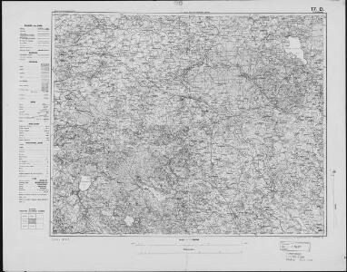 Germany 1:100,000 , Series GSGS 2739, (Sheet 17D)