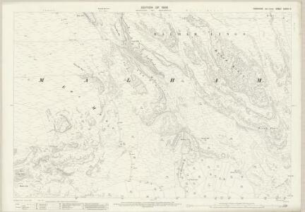 Yorkshire CXXXIII.5 (includes: Malham Moor; Malham) - 25 Inch Map
