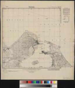 Meßtischblatt 2251.-52 : Neuwarp, 1925