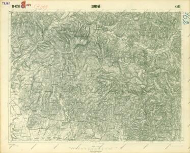 III. vojenské mapování 4569