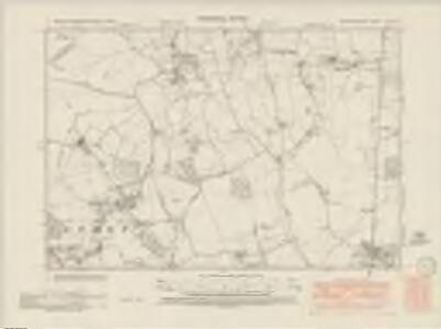 Hertfordshire VIII.NE - OS Six-Inch Map